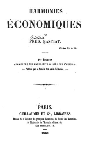 Bastiat Selected Essays