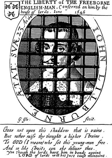 The Liberty of the Freeborne Englishman (John Lilburne in Gaol)