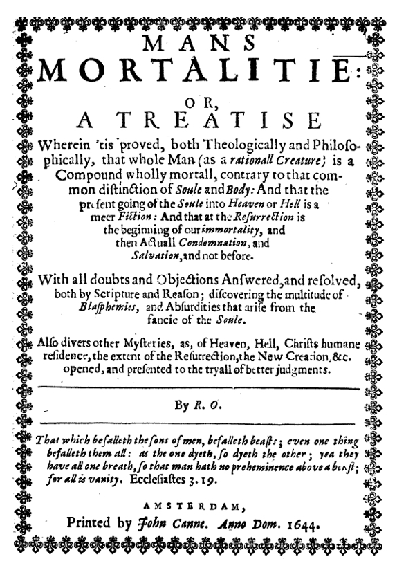 Tracts On Liberty By The Levellers And Their Critics Vol 2 1644