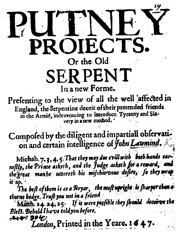 tracts on liberty by the levellers and their critics vol 4 1647 Art Department Assistant Resume tracts on liberty by the levellers and their critics vol 4 1647 2nd ed online library of liberty