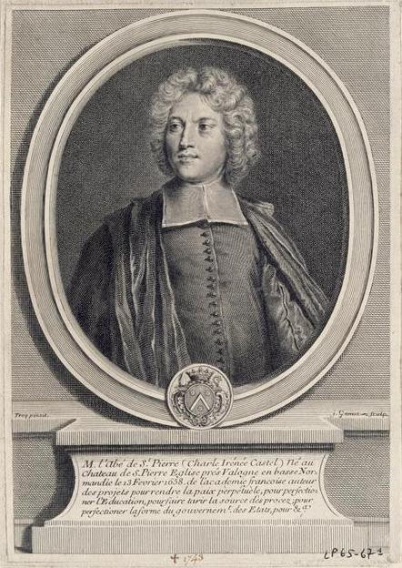 Charles Irénée Castel, abbé de Saint-Pierre