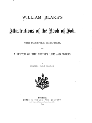 Blake's Illustrations of the Book of Job
